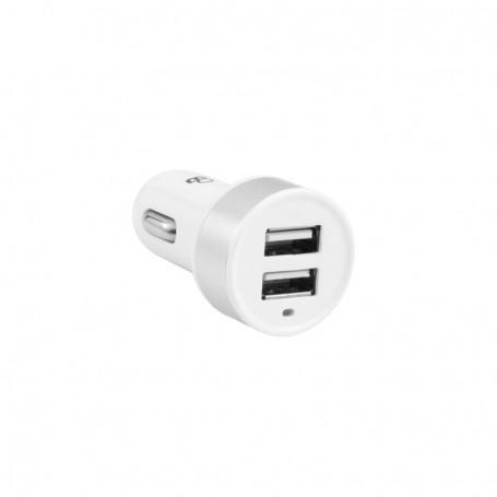 ALLUME-CIGARE AVEC 2 PORTS USB FEMELLES - MODÈLE USBCAR