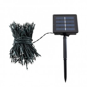 GUIRLANDE SOLAIRE BLANCHE 200 LEDS MODELE WL200 WI-LIGHT
