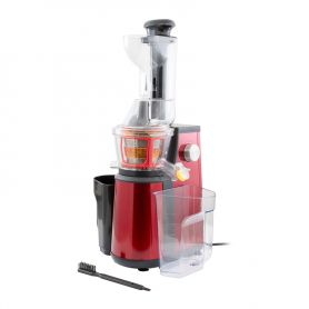 EXTRACTEUR DE FRUITS ET LEGUMES KITCHENCOOK A PRESSION DOUCE EXTRAJUICER ROUGE