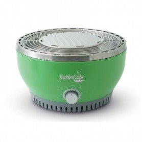 BARBECUE NOMADE A CHARBON CUISSON SAINE BARBECUTE VERT