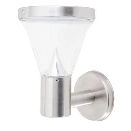 LAMPE SOLAIRE DE JARDIN 13 LED AVEC FIXATION AU MUR L250 VSOLAR