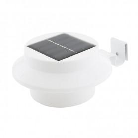 LAMPE SOLAIRE LED POUR CLÔTURE ET GOUTTIÈRE L200 BLANC BEESOLAR