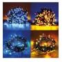 GUIRLANDE LUMINEUSE MULTICOULEUR AVEC 8 MODES MODELE GIR200MULTI WI-LIGHT