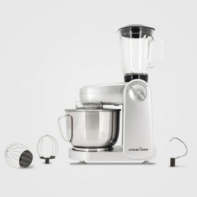 ROBOT PETRIN MULTIFONCTIONS + BLENDER MIXMASTERV2 SILVER KITCHENCOOK