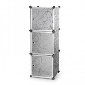 Cubes de rangement modulables en plastique TBOX3 Lineag