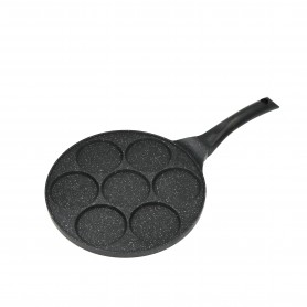 POÊLE 7 MINI BLINIS, PANCAKES OU ŒUFS 26CM TFI BL770 KITCHENCOOK