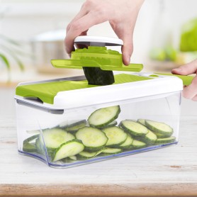 MANDOLINE AJUSTABLE 4 EN 1 SLICY_EXPRESS COOKART