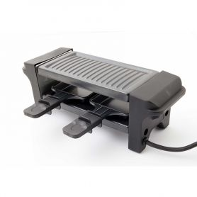 RACLETTE ET MINI PLANCHA YOU AND ME V2 BLACK